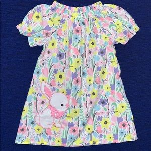 Floral Bunny Dress So Darling 3T - 8. NWT
